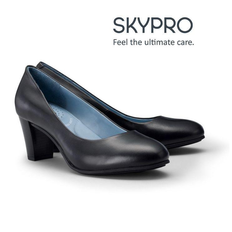 Sapatos de mulher para a aviação