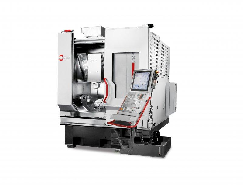 Machining Centre C 12 - Maximum efficiency combined with an installation area: The C 12 machining centre