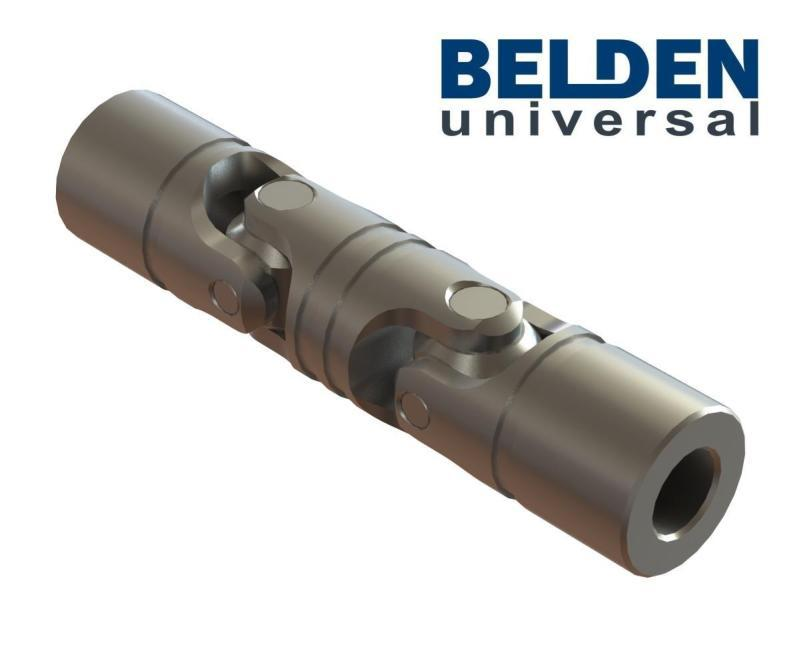 BELDEN Stainless Steel Precision Double Universal Joints - Stainless Steel Cardan Joints, Stainless Steel U Joint