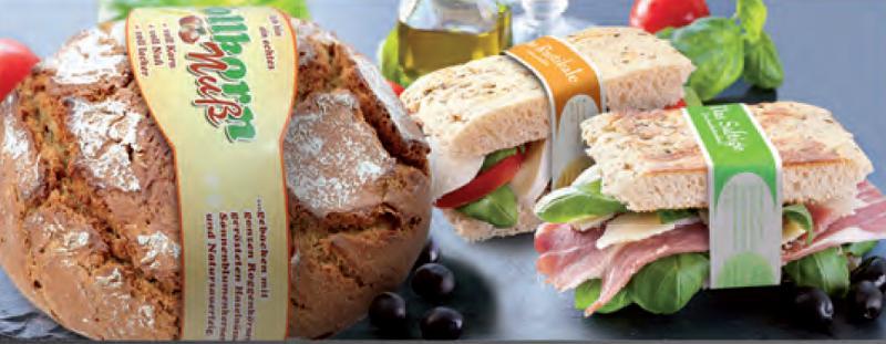 Brot- und Snackbanderolen
