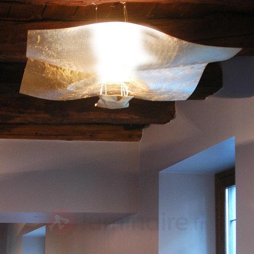 Suspension dorée Crash 100 cm - Suspensions design
