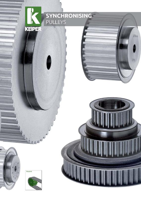 Synchronising pulleys catalog - null