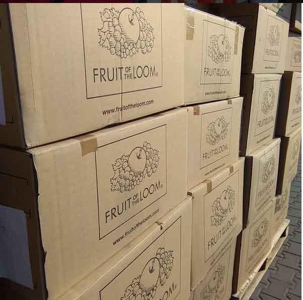 Promotional apparel - Fruit of the Loom, Gildan, Result, Hanes