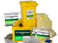 Absorbants Industriels : Kits d'intervention  - null
