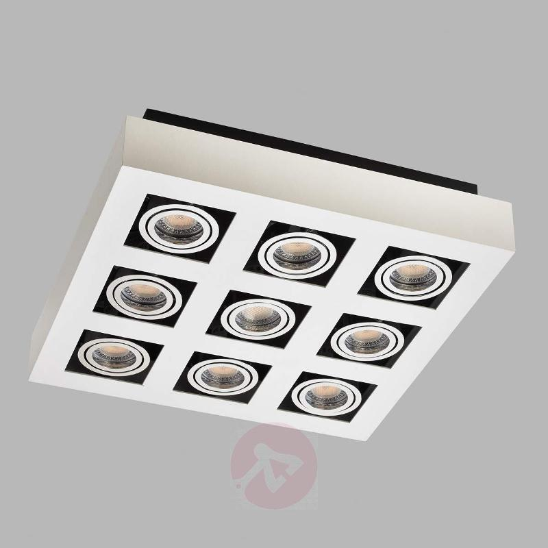 9-bulb bright LED ceiling light Vince - Ceiling Lights
