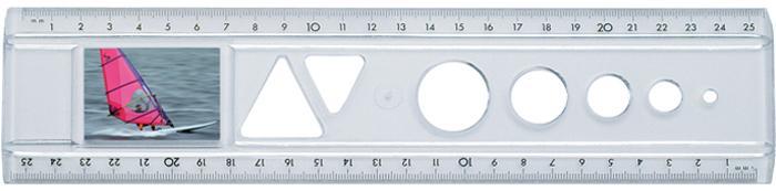 Lineale für Bild- und Werbediastreifen - Das Bildlineal Transparent