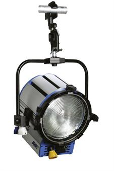 Halogen spotlights - ARRI True Blue ST1 P.O., blue/silver, with Schuko