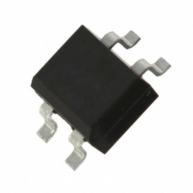 IC BRIDGE RECT 0.5A 100V 4-SOIC - Fairchild/ON Semiconductor MB1S