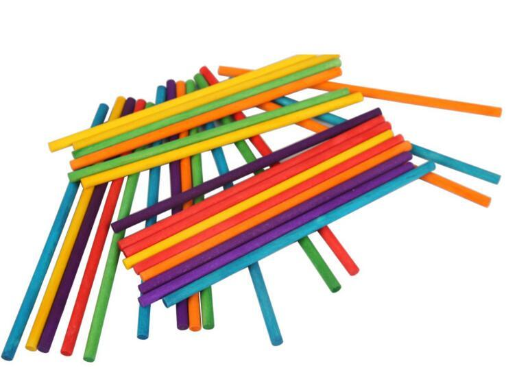 Round wood sticks - disposable skewers/birch wood sticks