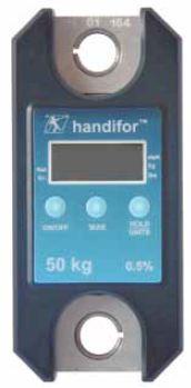 Appareils de mesure et de gestion de force - Dynamomètre Dynafor Handifor 20kg à 200kg