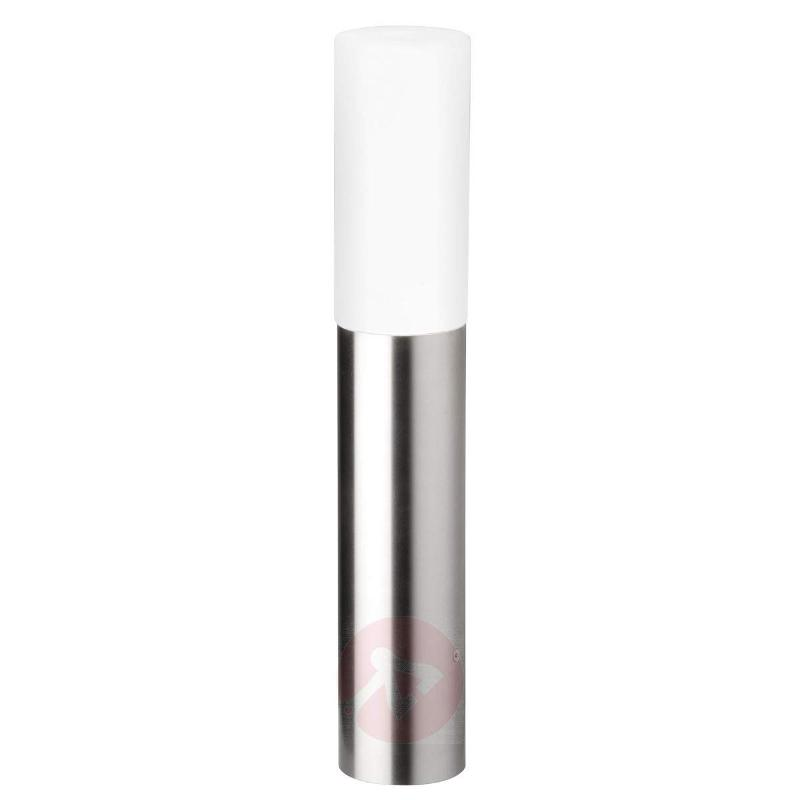 Polos decorative pillar light, stainless steel - Pillar Lights
