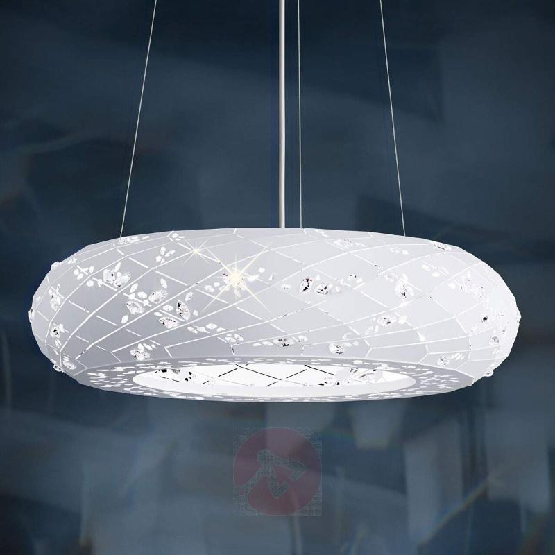 Sparkling Apta pendant lamp in white 61 cm - Pendant Lighting