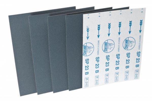 Schleifbogen für Lack / Farbe SP23B - Körnungen: P180, P220, P240, P280, P320, P360, P400, P500, P600