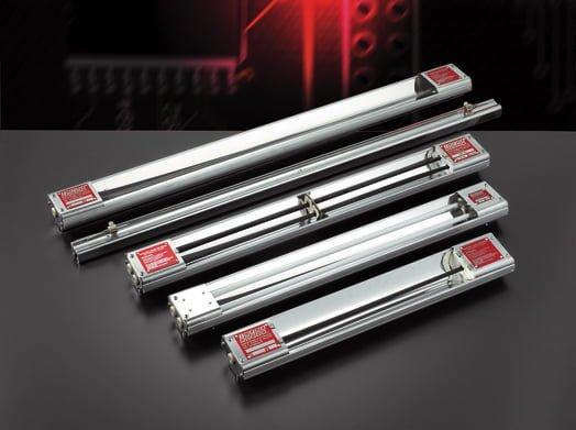 Radiatori a raggi infrarossi metallici onde medie - null