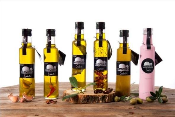 Aceite Virgen Extra Aromatizado - Aceite Vigen Extra de Jaen Aromatizado y Macerados
