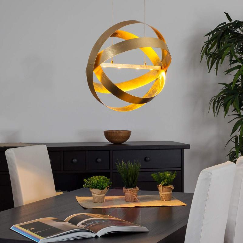 Golden Cara LED pendant lamp - Pendant Lighting