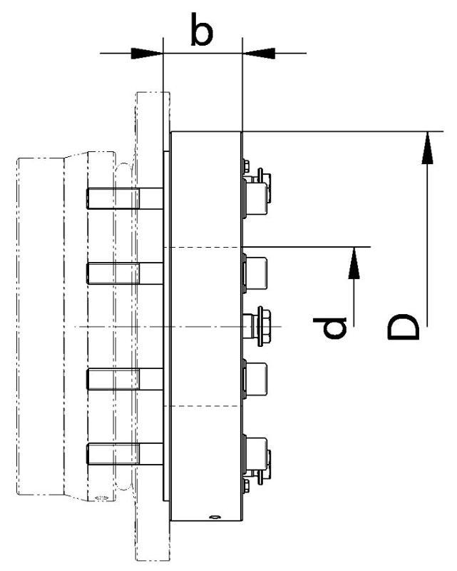 FKE + HY Clamping Tool - Flange Couplings FKE series examples