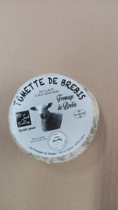 Tomette Brebis - Produits laitiers