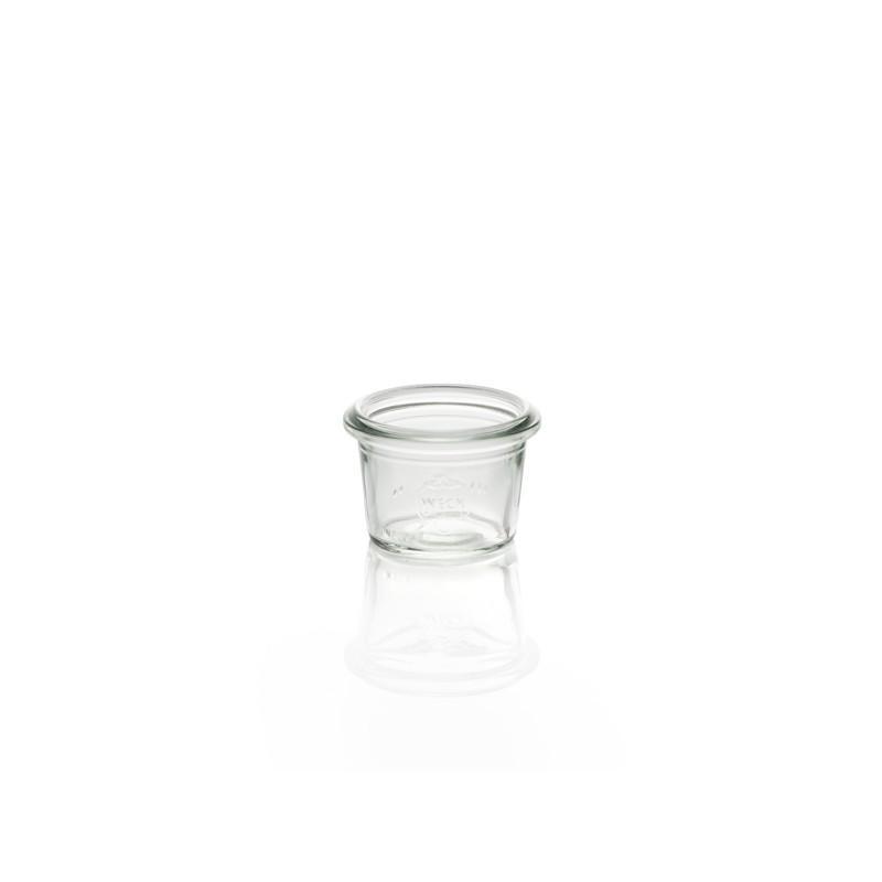 12 Bocaux WECK en verre Droits 35 ml avec couvercles en joints diamètre 40 mm (c - Bocaux Weck DROIT®