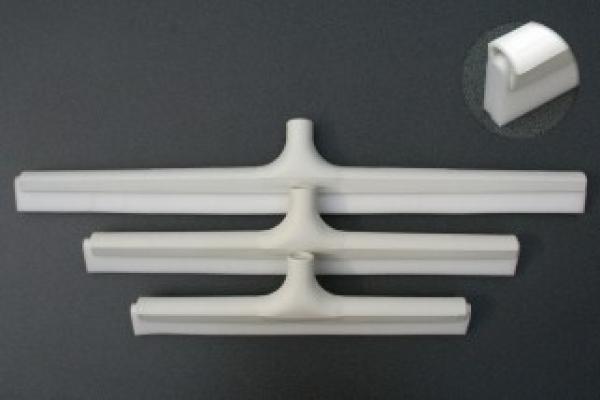 Hot water bottles - FOOD WHITE fine thread