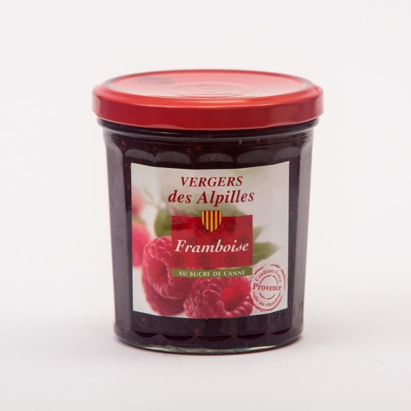 Vergers des Alpilles - Framboise - Confitures au sucre de canne