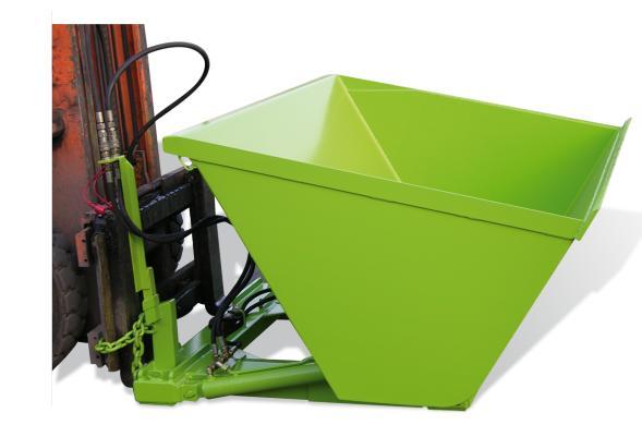 Godet à vrac hydraulique charge de 1 à 1.5 T.
