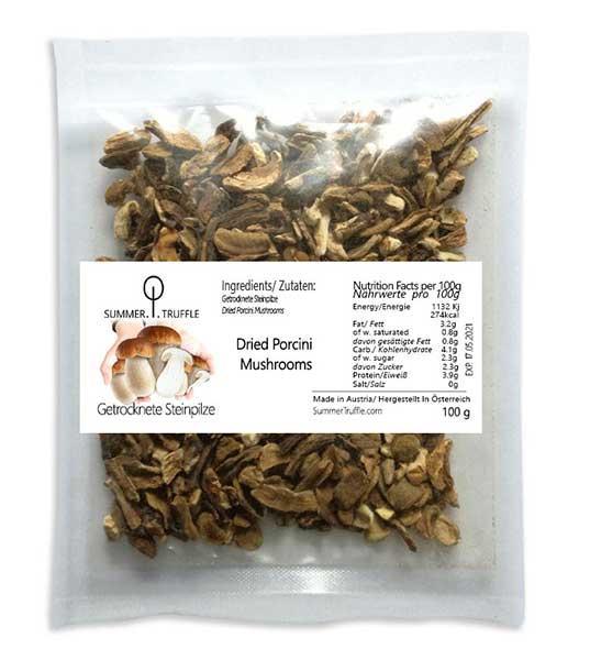 Dried Porcini Mushrooms - Steinpilz, Porcini Mushrooms