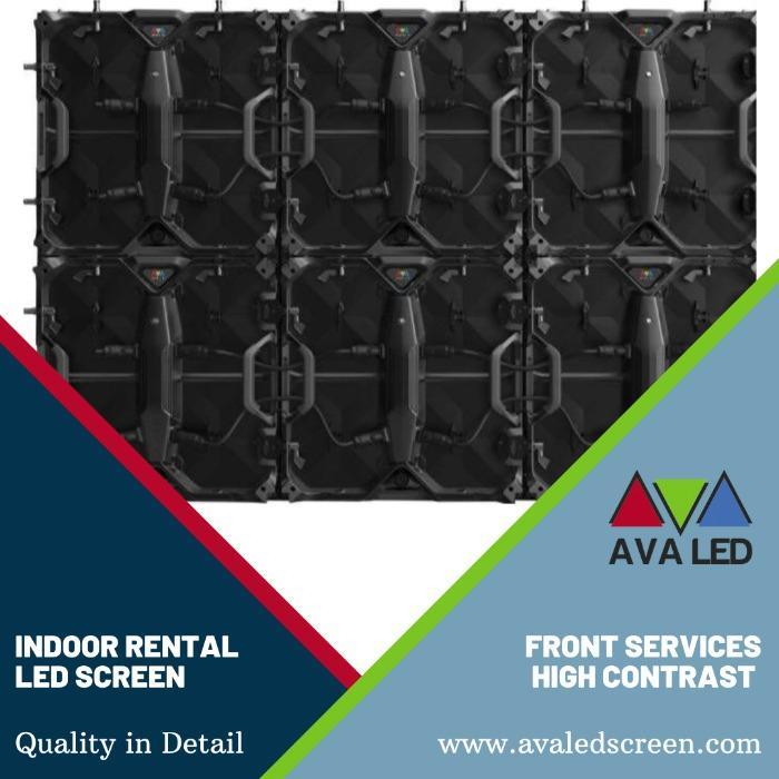 Display LED de série para aluguel interno - P1.95 - P2.6 - P2.97 - P3.91 Telas LED de caixa de aluguel