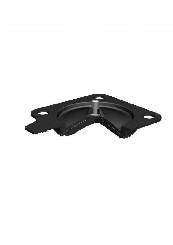 SISTO-C Elastomer diaphragms - soft elastomers, EPDM, 140°C, FDA-requirements, EU1935, USP-Guidlines