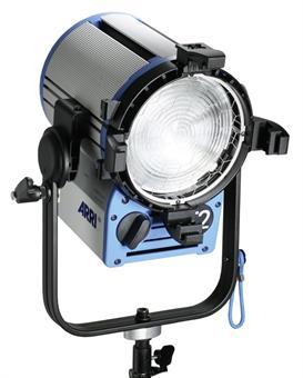 Halogen spotlights - ARRI True Blue T1 P.O. black, bare ends