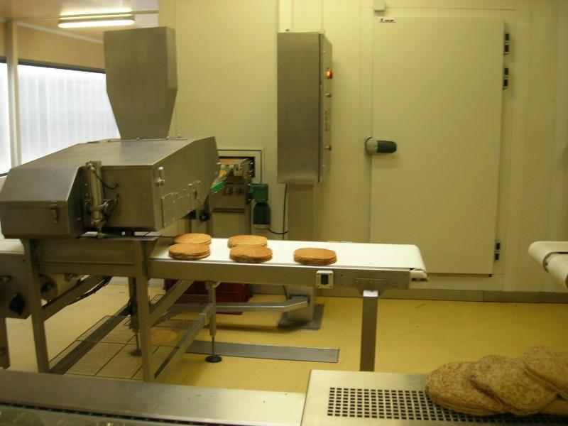 Empileuse crêpes, galettes, pancakes à plat - Empilage