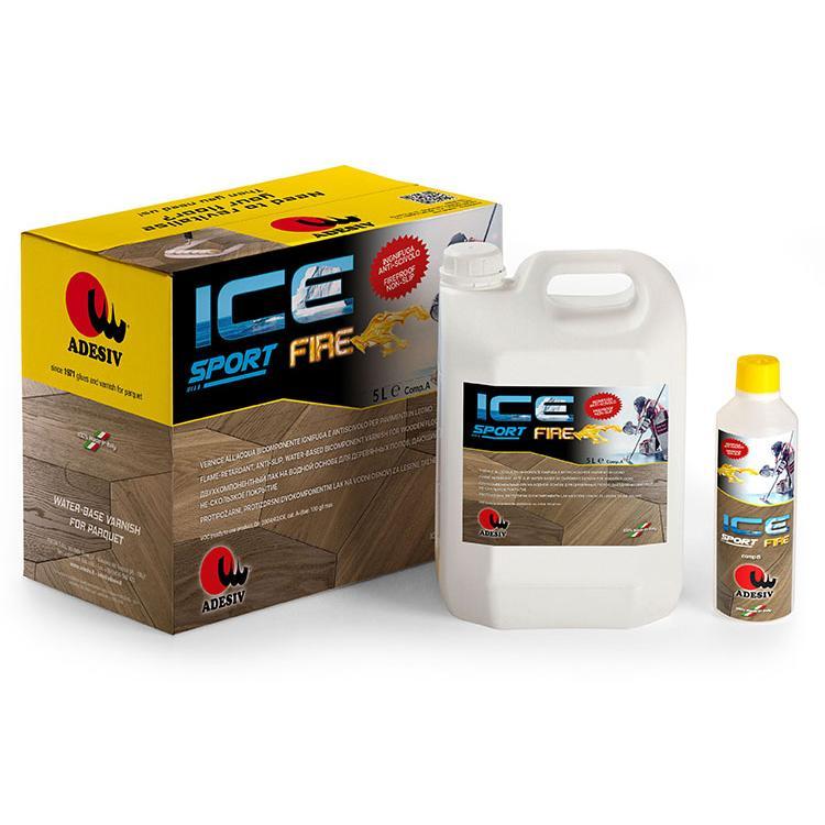Ice Sport Fire Vernice All'acqua Bicomponente Ignifuga E Antiscivolo - null