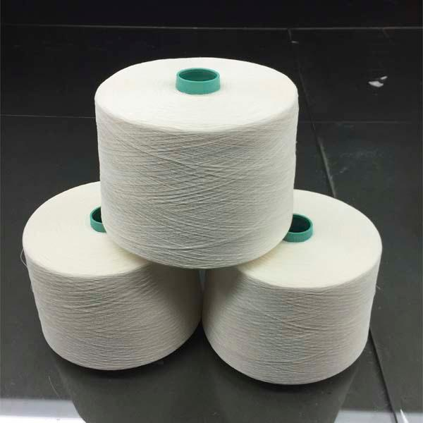 Long hemp half bleached yarn - 32Nm