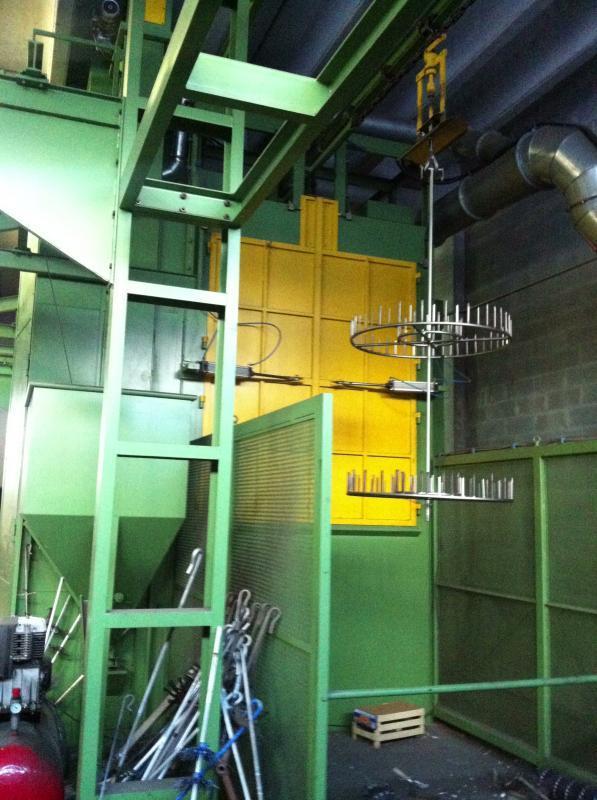 CARLO BANFI - SCM4R 15x20 4X1 - Sabbiatrici e granigliatrici