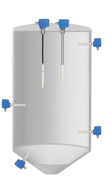 Capanivo® CN 4000 - Capacitive Sensor for level measurement in solids