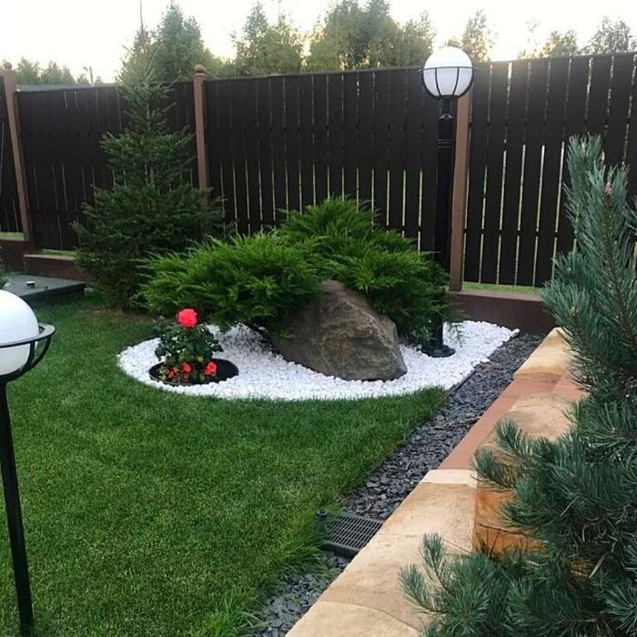 Мрамор - Снежно-белый галтованный мрамор (размеры 30-40 мм)