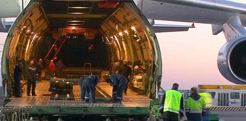 Air freight - services