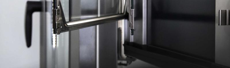 Gastronomy Steam oven doors - complex assemblies