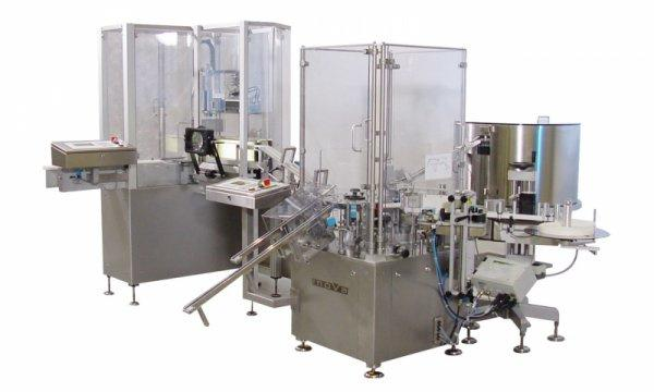 Labelling and Assembly Machine INOVA EK - Labelling and Assembly Machine INOVA EK: Syringes