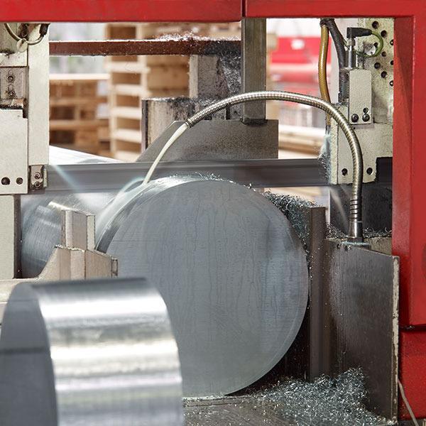 Sciage des aciers et métaux - Coupe de tube- de barre en acier et de barre ronde
