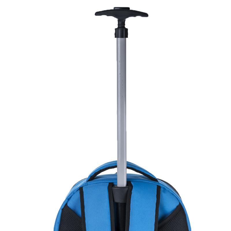 Trolley Removable Backpack Laptop Bag - Rolling, Removable, Laptop Bag
