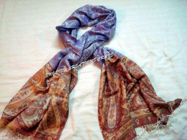 Wool Acrylic Woven Scarves - Wool Acrylic Woven Scarves