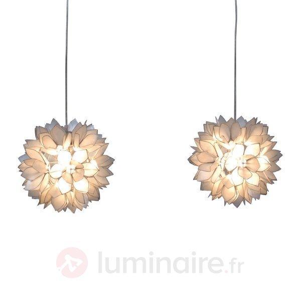 Éblouissante suspension Hanna à deux lampes - Toutes les suspensions