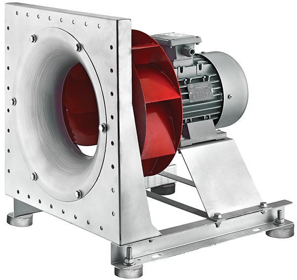 BPF - Industrie Radialventilator