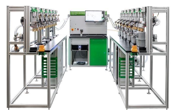 Gas meter test bench - Flow calibration -