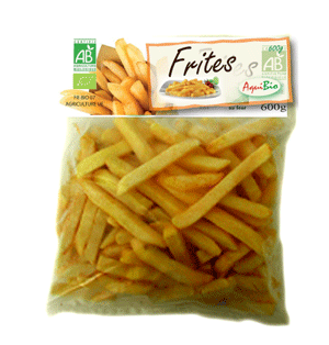 Frites - Biologiques et surgelées