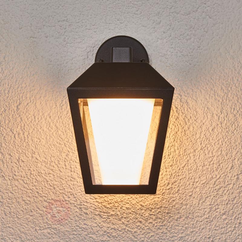 Applique d'extérieur LED foncée Keralyn - Appliques d'extérieur LED