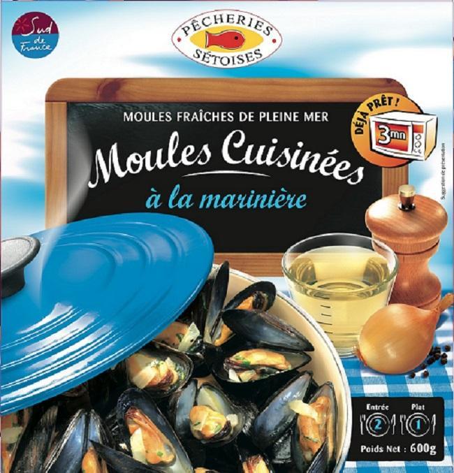 MOULES MARINIERES 600G - Produits de la mer