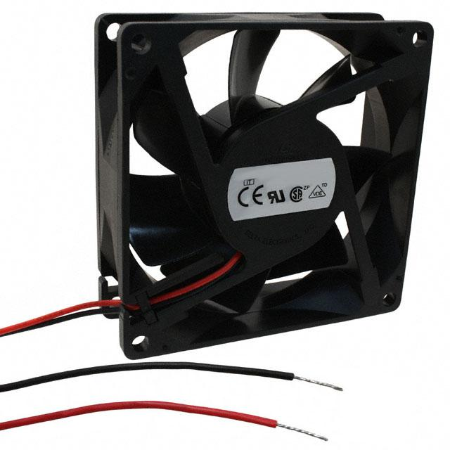 FAN AXIAL 80X25.4MM 12VDC WIRE - Delta Electronics AUB0812VH-AIT