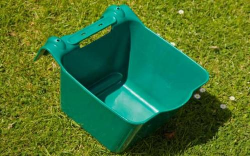 livestock,horse,cattle hanging feed bucket - animal hanging feeder, hanging trough for pig/ sheep/ goat/ horse